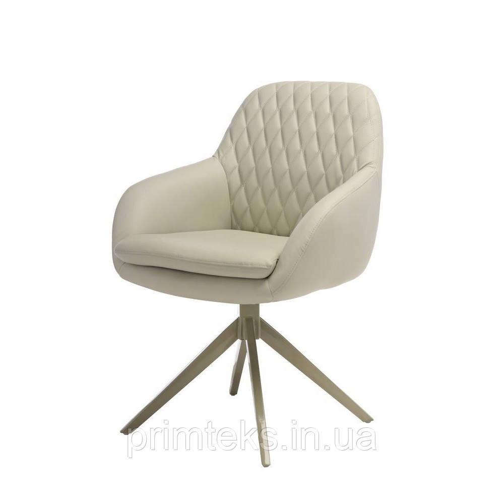 Кресло поворотное R-85 светло-серое