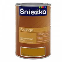 Эмаль для деревянных полов Sniezka PODLOGA P01 Орех светлый 1л