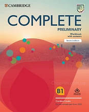 Complete Preliminary Second Edition Workbook with Answers and Audio Download / Тетрадь с ответами