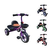 Велосипед трехколесный TILLY TRIKE T-318 от 2 лет, +2 корзины