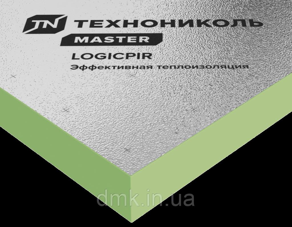Теплоизоляционная плита ТЕХНОНИКОЛЬ LOGICPIR PROF Ф/Ф 90 мм ( ПИР , PIR плита )