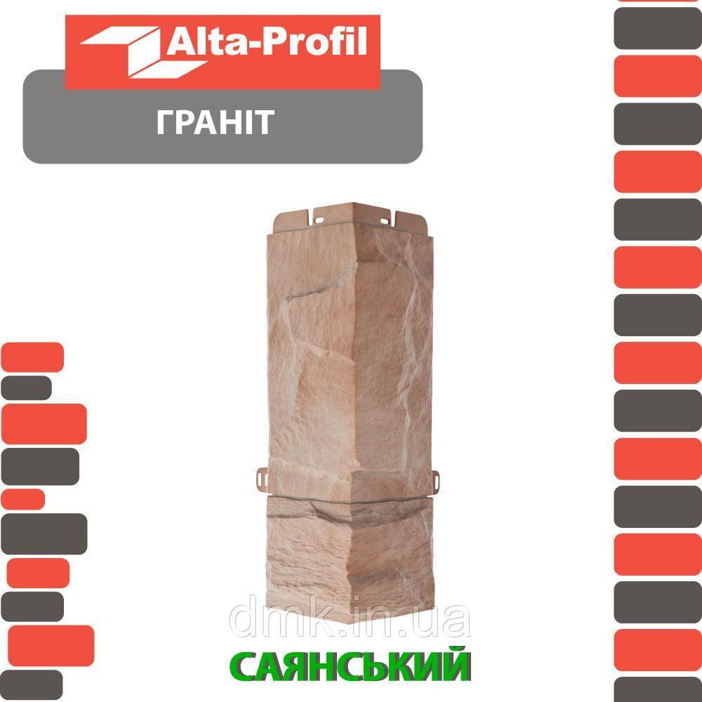 Наружный угол Альта-Профиль Гранит 0,47х0,16 м Саянский