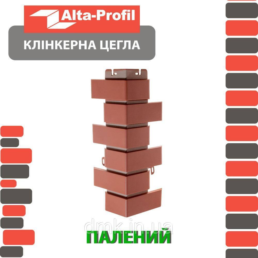 Наружный угол Альта-Профиль Клинкерный кирпич 0,445х0,125 м коричневый