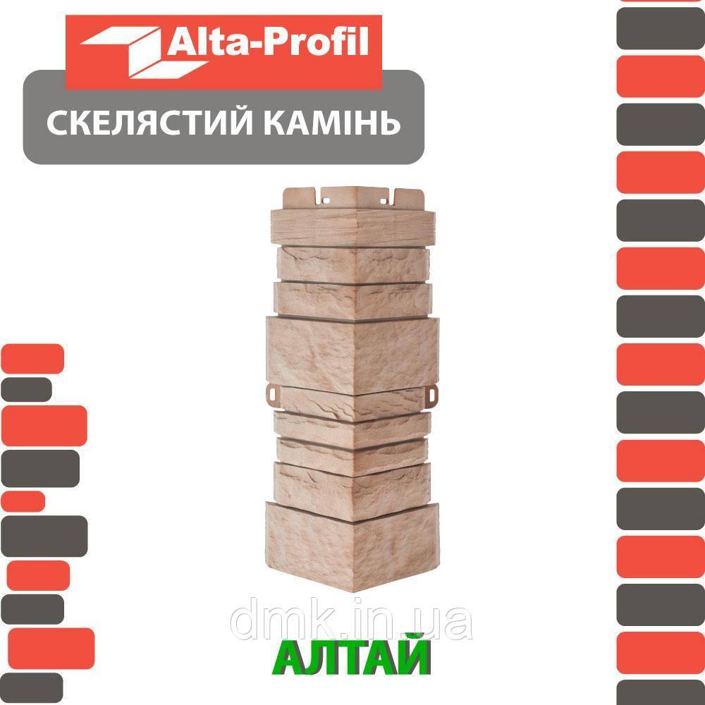 Наружный угол Альта-Профиль Скалистый  камень 0,446х0,16 м Алтай