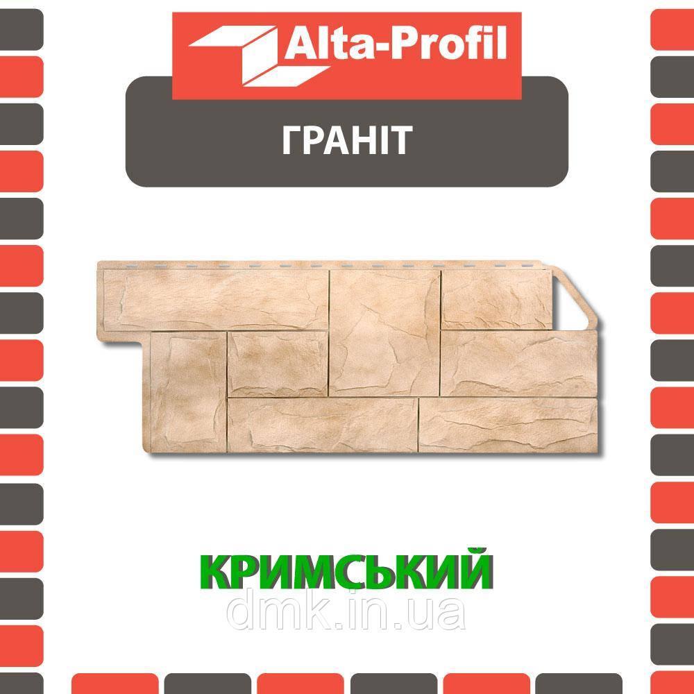 Фасадна панель Альта-Профіль Граніт 1160х450х20 мм Кримський