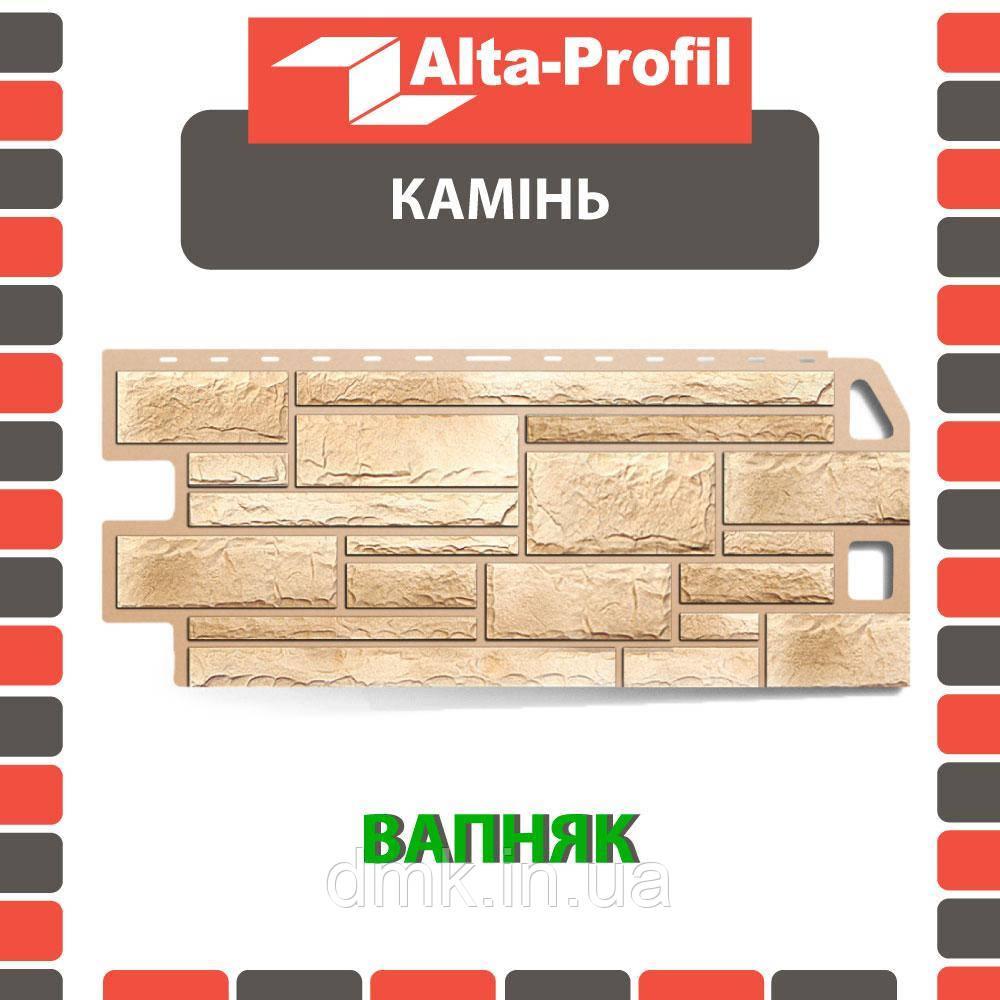 Фасадная панель Альта-Профиль Камень 1130х470х20 мм Жженый