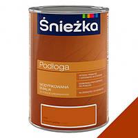 Эмаль для деревянных полов Sniezka PODLOGA P03 Орех промежуточный  1л