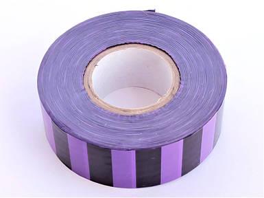 Полоса Gieffe для обозначения растений, 2,5см*100м фиолетово-чёрная
