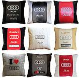 Подушка с логотипом машины, подушка-подголовник. автоаксессуары, фото 6