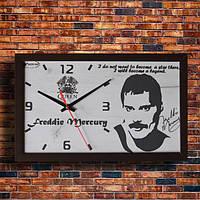 Настенные часы ФРЕДИ МЕРКУРИ, индивидуальная работа.