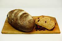 Хлеб ржаной бездрожжевой с клюквой доставка