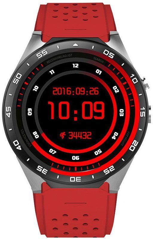 Смарт-часы King Wear KW88 Red #I/S