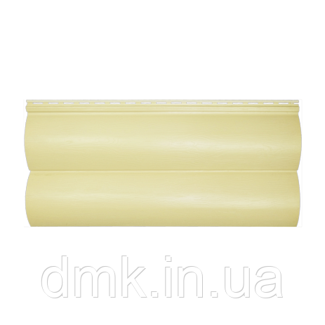 Сайдинг акриловий Альта-Профіль BlockHouse однопереломний 3100х200 мм дуб світлий