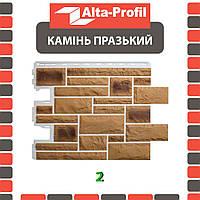 Фасадная панель Альта-Профиль Камень Пражский 795х591х20 мм цвет 02