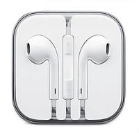 Реплика EarPods 3.5мм наушники iPhone Айфон