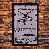Настенные часы Mercedes-Benz, индивидуальная работа.