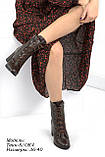 Зимняя женская обувь на шнуровке, фото 5