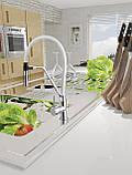 Змішувач для кухні Invena Magnetic BZ-30-L02 білий (671186273), фото 2