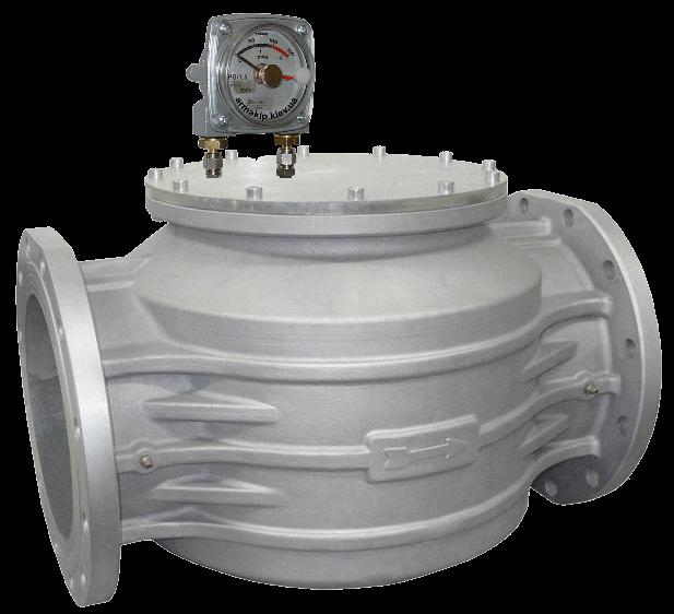 Фильтр газовый FM, DN250, P=2 bar, MADAS (Мадас) с индикатором перепада давления