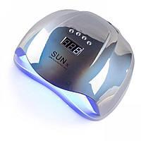 ✅уф лампа для маникюра UV-LED SUN X MIRROR 54 ВТ (ЗЕРКАЛЬНАЯ)