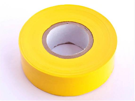 Полоса Gieffe для позначення рослин, 2,5см*100м жовта, фото 2