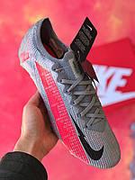Бутсы Nike Mercurial Vapor 13 Elite MDS FG/найк меркуриал вапор/ копы серые, фото 1
