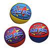"""М'яч баскетбольний гумовий, розмір 7"""", 550г, різнокольоровий"""