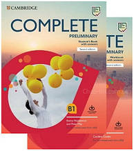 Complete Preliminary Second Edition Self Study Pack / Комплект: учебник + тетрадь (с ответами)