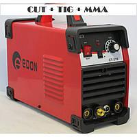 Аргоновый сварочный аппарат Edon CT 315 CUT+TIG+MMA