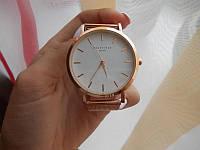Наручний годинник Rosefield рожеве золото, кварц, від батарейок, стрілочні, метал, Годинники жіночі, наручні жіночі годинники