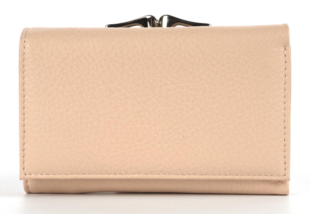 Компактный прочный кожаный качественный женский кошелек H.VERDE art. A175-9406-18