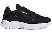 Кроссовки Adidas Falcon Black/White Реплика, фото 1