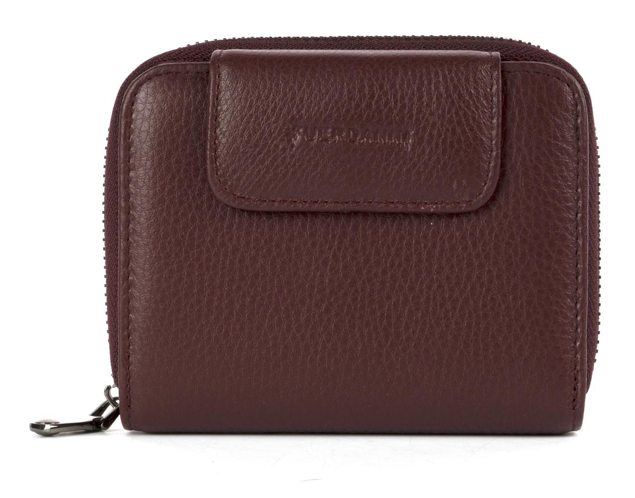 Компактный прочный кожаный качественный женский кошелек Fuerdanni art. FA17000