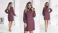 Красивое женское платье мини прямого кроя размеры 50-56 арт 3139