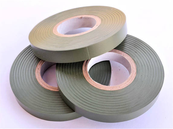 Полоса до степлера-тапенера ПВХ 26 МТ Gieffe Olive Green 10мм*26м, 10шт, фото 2