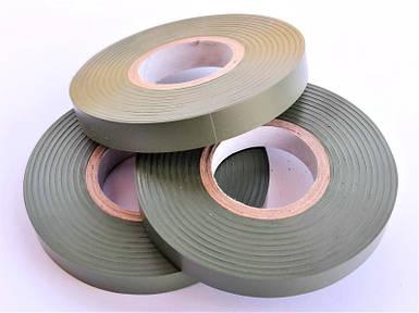 Лента для степлера-тапенера ПВХ 26 МТ Gieffe Olive Green 10мм*26м, 10шт