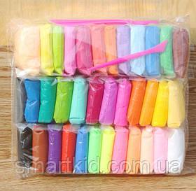 Повітряний пластилін 36 кольорів