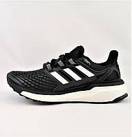 Кроссовки Adidas Energy Boost Чёрные Мужские Адидас (размеры: 42) Видео Обзор