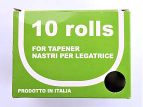 Полоса до степлера-тапенера ПВХ 26 МТ Gieffe Olive Green 10мм*26м, 10шт, фото 3