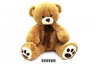 Ведмедик з бантом сірий 70 см. 7095\\70 cм (шт.) (шт.)