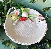 Блюдо сервировочное, керамическое Артишоки ANN.079/E