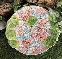 Блюдо сервировочное Гортензия 32 см