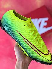 Сороконожки для футбола Nike Mercurial Vapor 13 Elite MDS FG Зеленые, фото 2