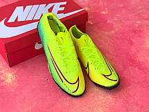 Сороконожки для футбола Nike Mercurial Vapor 13 Elite MDS FG Зеленые, фото 3