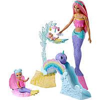 Barbie  Дрімтопія Дитяча кімната русалочок Дримтопия Детская комната русалочек (FXP25)