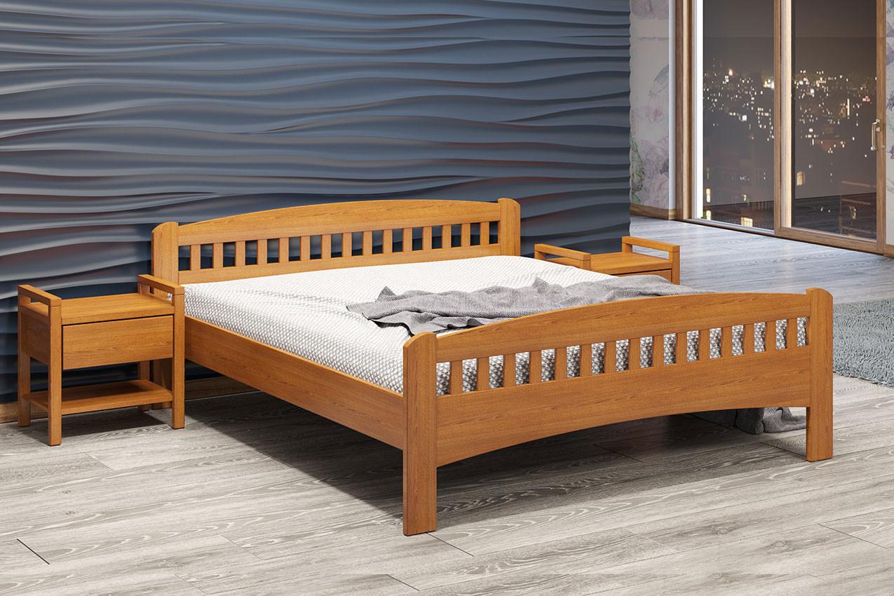 Деревянная двуспальная кровать Розалия Камелия/Camelia