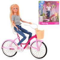 Детская Кукла DEFA на велосипеде 05345