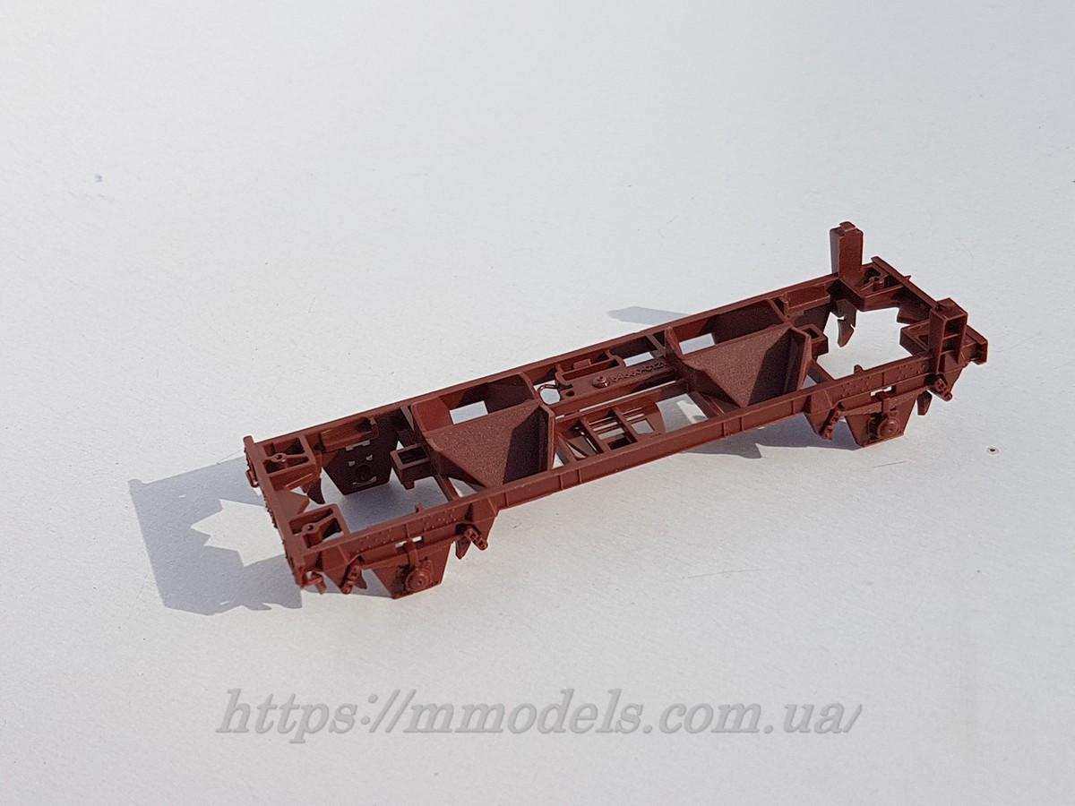 PIKO 54560 рама 2х осного саразгружающегося вагона, масштаба H0,1:87