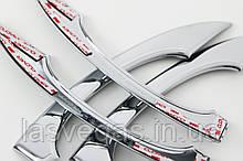Хром накладки на ручки  Audi A6 2011-2019 (Autoclover/Корея/B833)
