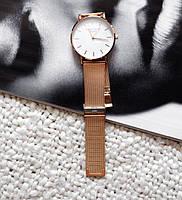 Наручний годинник Rosefield для жінки рожеве золото, кварц, від батарейок, стрілочні, метал, Годинники жіночі, наручні жіночі годинники